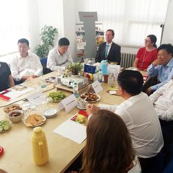 Delegace z provincie Hubei na VIA ALTě
